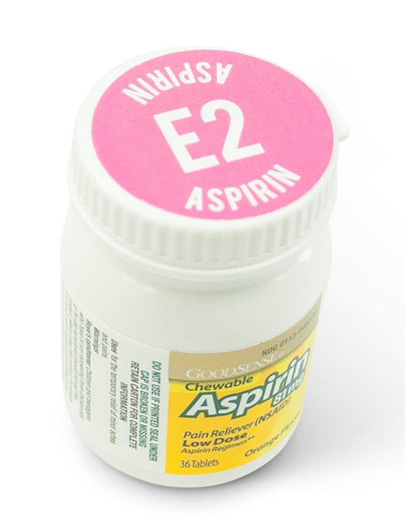 MOBILIZE RESCUE SYSTEMS REFILL, ITEM E2, ASPIRIN