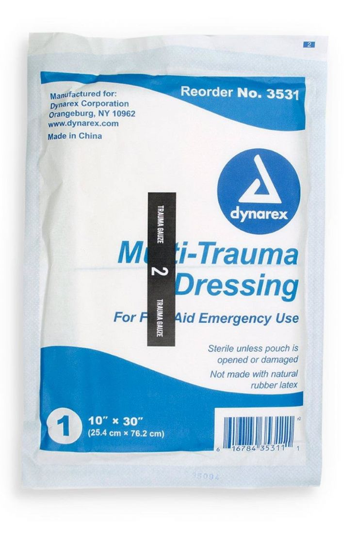 MOBILIZE RESCUE SYSTEMS REFILL, ITEM 2, TRAUMA GAUZE