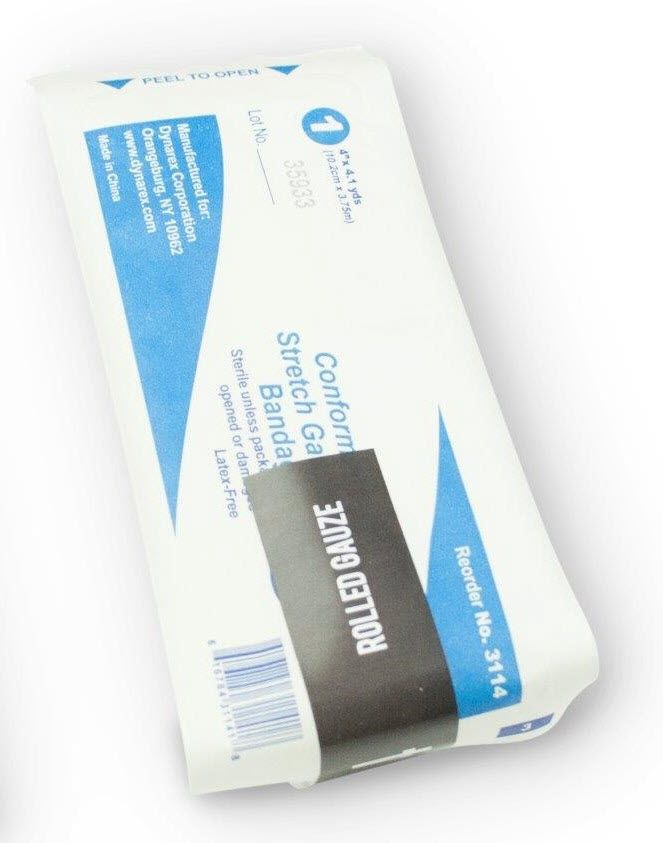 MOBILIZE RESCUE SYSTEMS REFILL, ITEM 4, ROLLED GAUZE