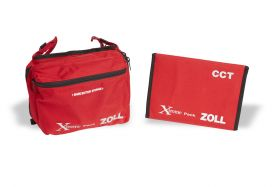 Xtreme Pack I Carry Case, Soft Case with Expanded Rear Pouch for use with Paddles and NIBP