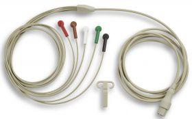 5-Lead ECG Patient Cable