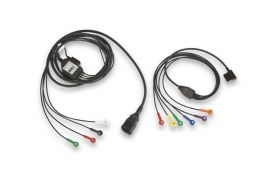 1-STEP PATIENT CABLE FOR 12-LEAD ECG WITH LIMB-LEAD AND V-LEAD CABLES (7 FT)