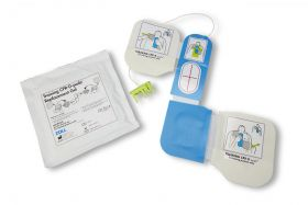 TRAINING CPR-D PADZ ELECTRODE, WITH 1 PAIR REP. GEL