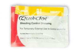 QuickClot Bleeding Control Dressing (3