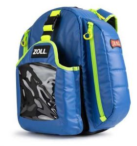 ZOLL AED RESCUE BACKPACK, G3 QUICKLOOK BLUE, AED